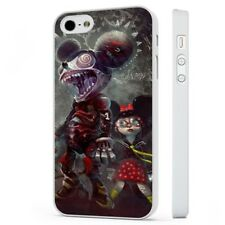 Mickey Mouse Horror Zombie Disney WHITE PHONE CASE COVER fits iPHONE