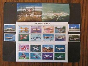 MALDIVES, SC# 2313-2320, AIRCRAFTS (1998) MINT