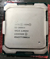 Intel xeon QS e5-2699v4 SR2JS 22 core 44 thread 2.2G processor CPU for C612