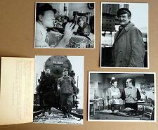 JOSEF SIEBER * 4 PRESSEFOTOS 18x13cm - VINTAGE STILLS PHOTOS LOT 1950er