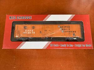 Red Caboose RR-34755-01 HO Scale - Mech Reefer Car UPFE Orange #452074