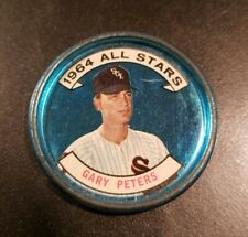 1964 **GARY PETERS** ALL STARS! WHITE SOX #140 TOPPS COIN!