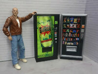 Combo Vending Machines3 Drink Snack Action Figure Garage Diorama Dollhouse 1/10