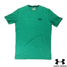 Under Armour Heat Gear Mens S Short Sleeve Loose Fit Charged Tee Green