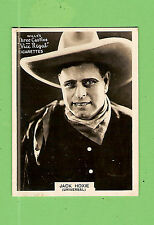 #D303. 1925-1930  FAMOUS FILM  STAR  WILLS CIGARETTE CARD #56  JACK  HOXIE