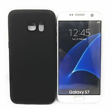 CoverKingz Samsung Galaxy S7 Hülle schwarz matt soft case ultra-slim 0,8 mm dünn