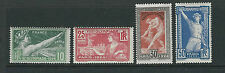 FRANCE 1924 PARIS OLYMPICS (Scott 198-201) VF MNH