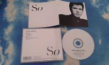Peter Gabriel – So UK CD ALBUM REMASTERED