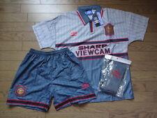 Manchester United 100% Original Jersey Shirt Shorts Socks 1995/96 M Still BNWT