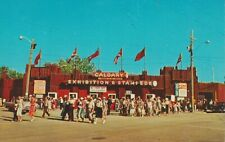Entrance To Stampede Grounds, Calgary - Unused 1960s Postcard