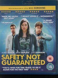 SAFETY NOT GUARANTEED - Aubrey Plaza, Mark Duplass, Jake Johnson - Blu-Ray