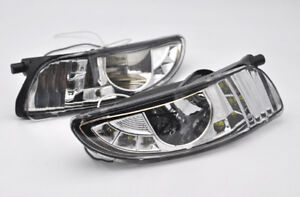 2x Front Fog Light with led daytime drl For Lexus Rx300 RX330 RX350 XU30 03-2009