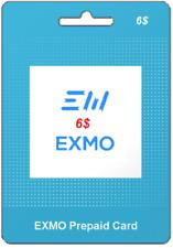 e-VOUCHER EXMO 6$ - 30 PREMIUM