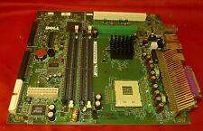 Dell 0xf826 xf826 Socket mpga478b scheda madre completa con piastra posteriore