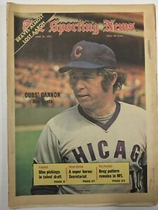 JUN 23, 1973-THE SPORTING NEWS - Cover: RON SANTO - Chicago Cubs Cannon TSN