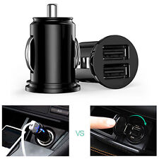12V Car Truck Auto 2 Port Dual USB Ports Mini Charger Adapter for Tablet Sweet