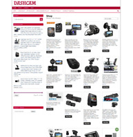 FULLY STOCKED DASHCAMS eCOMMERCE UK WEBSITE - 1 Years Hosting - Home Business