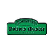 Genuine Warner Bros Harry Potter Potions Master Hogwarts Snape Pin Badge Gift