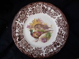 Palissy GAME SERIES. Side plate. Diameter 7 inches.
