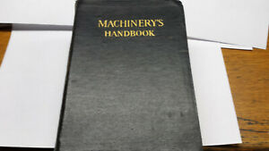 Machinery's Handbook By Industrial Press Fifth Edition