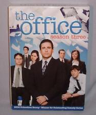 DVD THE OFFICE SEASON THREE (3) COMPLETE 4 Disc BOX SET MINT