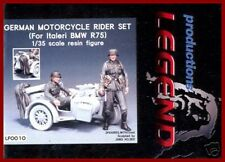 Legend Productions German Motorcycle Rider Set for Italeri BMW R75 1/35 Kit