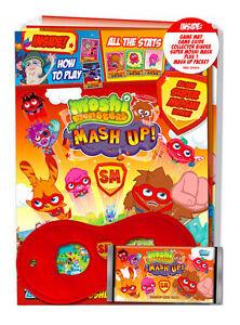 Moshi Monsters Series: 2 Mash Up Super Starter Pack Binder Booster Card Mat Mask
