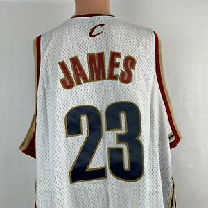 Nike LeBron James Cleveland Cavaliers Swingman Jersey NBA Basketball Sewn 3XL