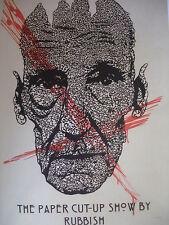 """""""Aurel RUBBISH""""  : sérigraphie numérotée et signée / Street Art / ART BASEL FIAC"""