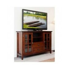 TV Stand Entertainment Center Wood Storage Console Media Cabinet Table Room Home