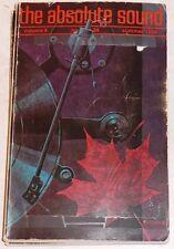 The Absolute Sound Vol 9 #34 Shure V-15 Marovskis MIT-1 Shinon Goldmund Syrinx