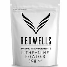 L-THEANINE 50g • PHARMACEUTICAL QUALITY • SAME DAY DESPATCH • WITH FREE SCOOP!