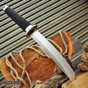 "12.5"" SAMURAI STYLE TANTO FIXED BLADE KNIFE MODERN MILITARY DESIGN SURVIVAL"