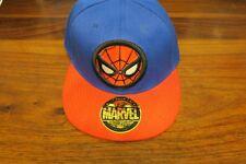 CASQUETTE SPIDER-MAN  MARVEL  - FLAT BACK CAPS   --  NEUVE / NEW