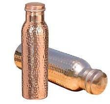 Pure Copper Ayurvedic Water Storage bottle/Jug Gud for Stomach/Skin/Liver/Kidney