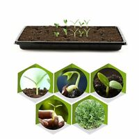 2pc Seedling Starter Tray Extra Strength Seed Germination Plant Flower Grow Box