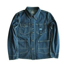Vintage Union Made Style Denim Railway Work Jacket  Size 38