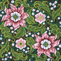 Needlepoint Kit ~ Design Works Artful Flowers #2517