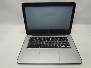 "HP Chromebook 14 G3 14"" Laptop 2.1GHz Tegra-K1 4GB RAM 2GB SSD Chrome OS Grade C"