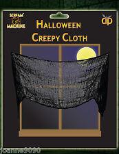 Halloween Negro Asqueroso Paño Material Mesa Puerta Ventana Decoración