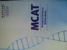 Kaplan -Mcat - complete home study kit ,,with one/ two  free sample tests