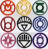 "Blackest Night Lantern Corps Classic Style 3.5"" Patch Set - 9 patch set"