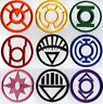 "Blackest Night Lantern Corps Classic Style 5"" Patch Set - 9 patch set, Iron on"