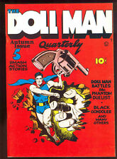 FLASHBACK # 9 Dollman Quarterly # 1     reprint sb