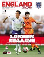 * 2011 - ENGLAND v HOLLAND (POSTPONED FRIENDLY MATCH) *