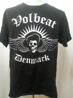 Volbeat Denmark Rock Band T-Shirt Hanes Heavyweight Black Mens Size Large EUC