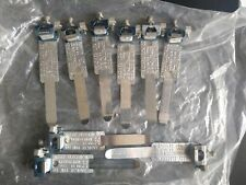 Earth Bonding Clamps BS951 12-32mm A-D Set of 9 Safety Electrical Connection