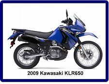 2009 Kawasaki KLR650  Motorcycle  Refrigerator / Tool Box Magnet