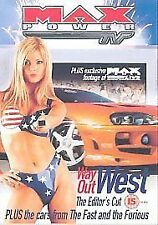 Max Power TV: Way Out West - Editors Cut [DVD], New, DVD, FREE & FAST Delivery