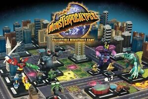 MONSTERPOCALYPSE MINIATURE GAME : MIXED LOT 25+ UNITS, BUILDINGS & MONSTERS